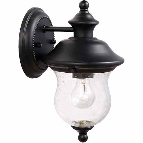 "Design House 502906 Highland Outdoor Downlight, 6"" x 10.625"", Black Finish"