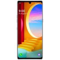 AT&T LG VELVET 5G 128GB, Aurora Silver - Upgrade Only