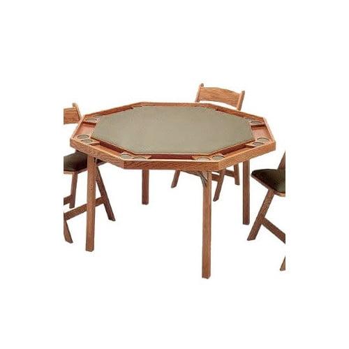 Kestell Furniture 52 Oak Contemporary Folding Poker