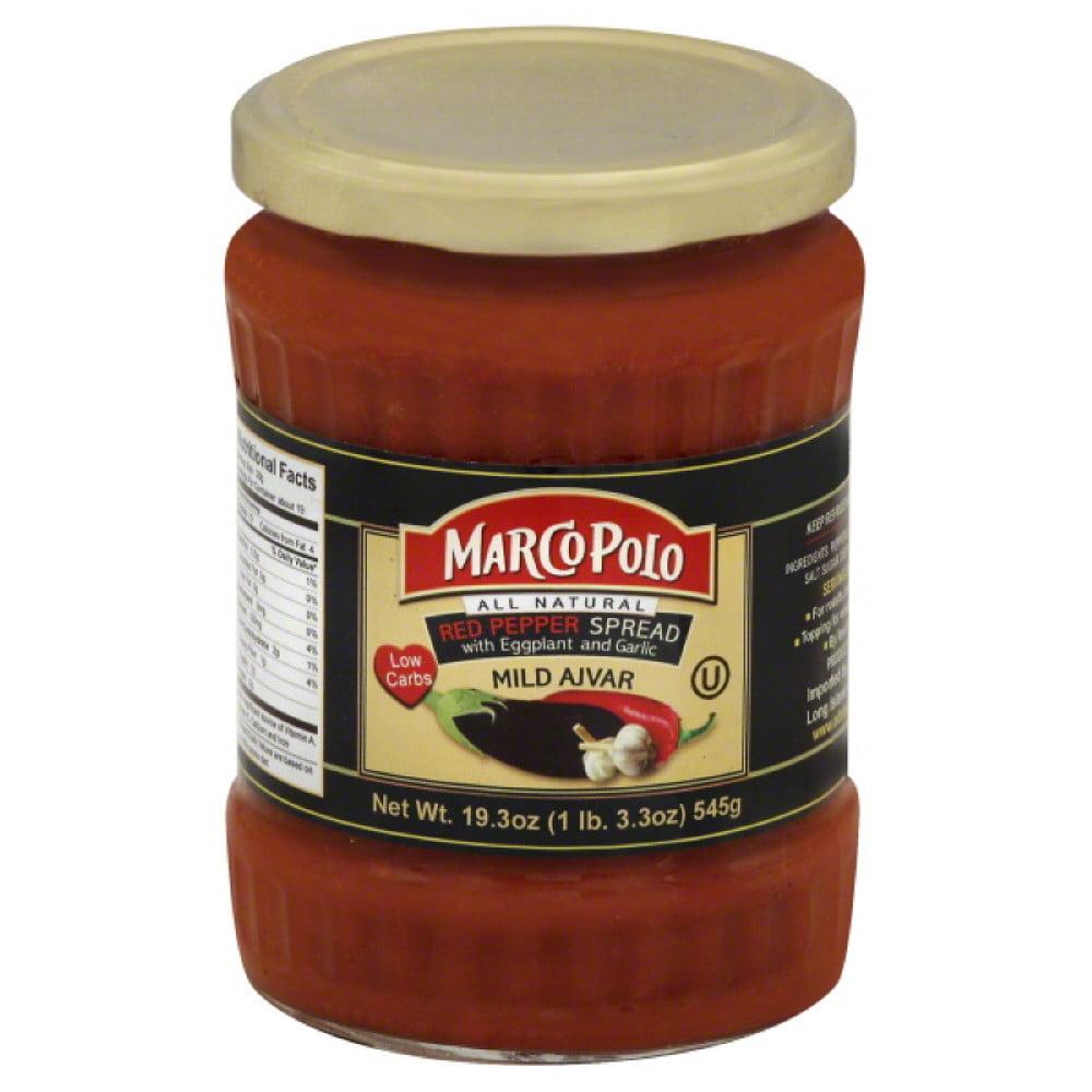 Mild Ajvar Red Pepper Spread