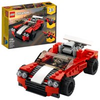LEGO Creator 3in1 Sports Car Toy 31100 Building Kit (134 Pieces)