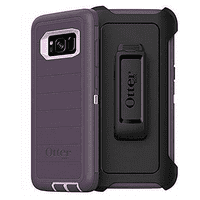 OtterBox Defender Series Rugged Case & Holster for Samsung Galaxy S8, Purple Nebula