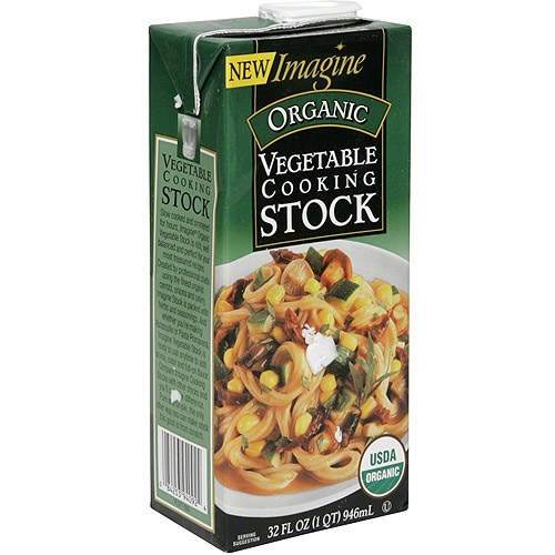 ***Discontinued***Imagine Foods Organic Vegetable Cooking Stock, 32 fl oz (Pack of 12)