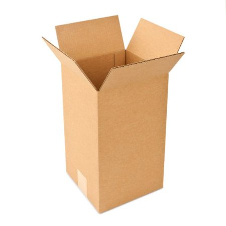 Pratt PRA0011 Recycled Corrugated Cardboard Single Wall Standard Tall Box with C Flute, 6 Length x 6 Width x 12 Height, Pack](Order Boxes Online)