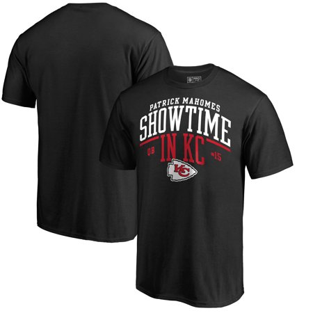 Patrick Mahomes Kansas City Chiefs NFL Pro Line by Fanatics Branded Hometown Collection Showtime in KC T-Shirt - Black ()