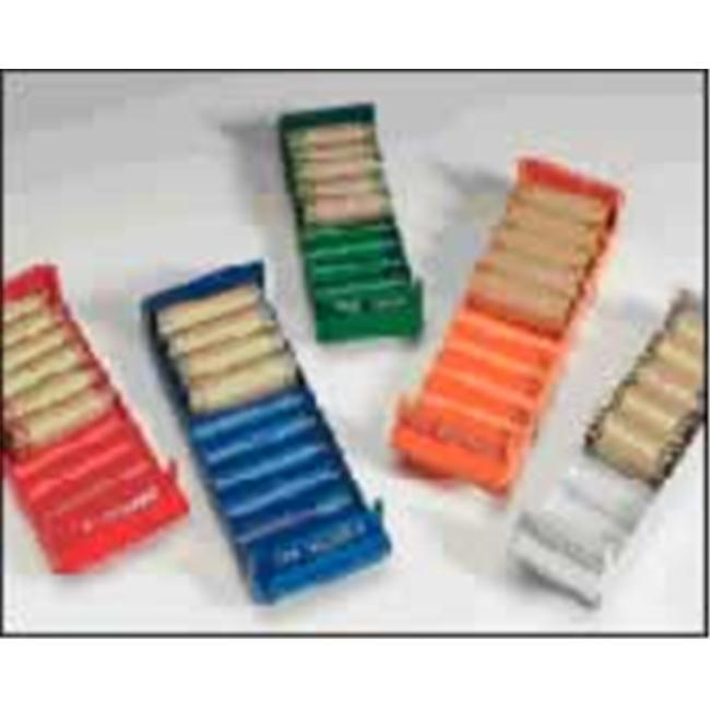 MMF 212080508 Rolled Coin Tray  for nickles Blue