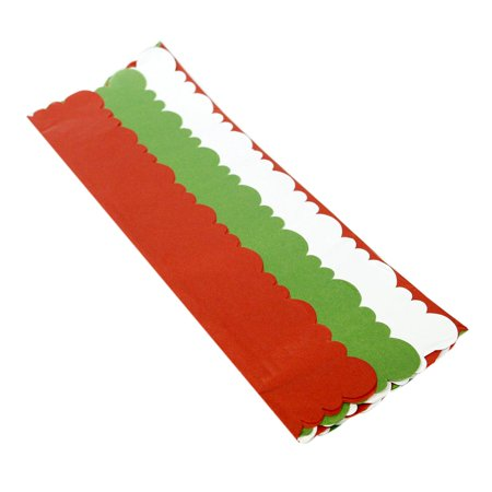 Red/White/Green Diecut Tissue - Mint Green Tissue Paper