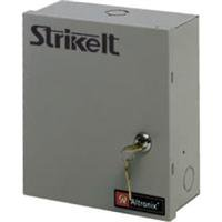 Altronix - STRIKEIT2 - Steel Power Supply Panic Device Controller 1 Door with Gray Finish Altronix Accessories Power Devices