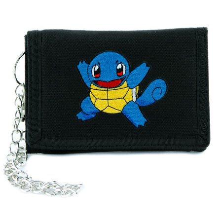 Squirtle Pokemon Go Trainer Tri-fold Wallet Alternative Clothing Gotta Catch'em All (Squirtle Girl)