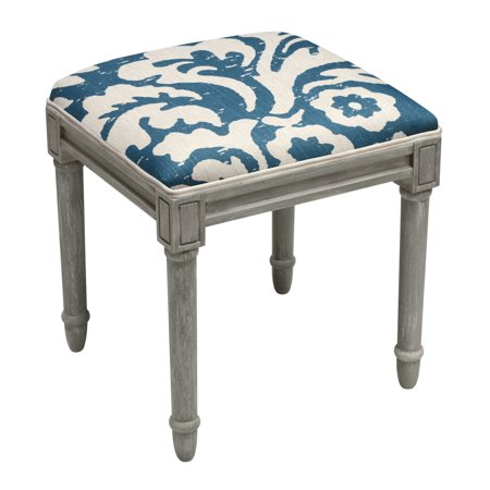 123 Creations Jacobean Multicolor Floral Linen And Vanity