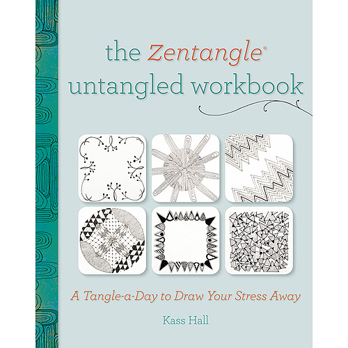 North Light Books The Zentangle Untangled Workbook