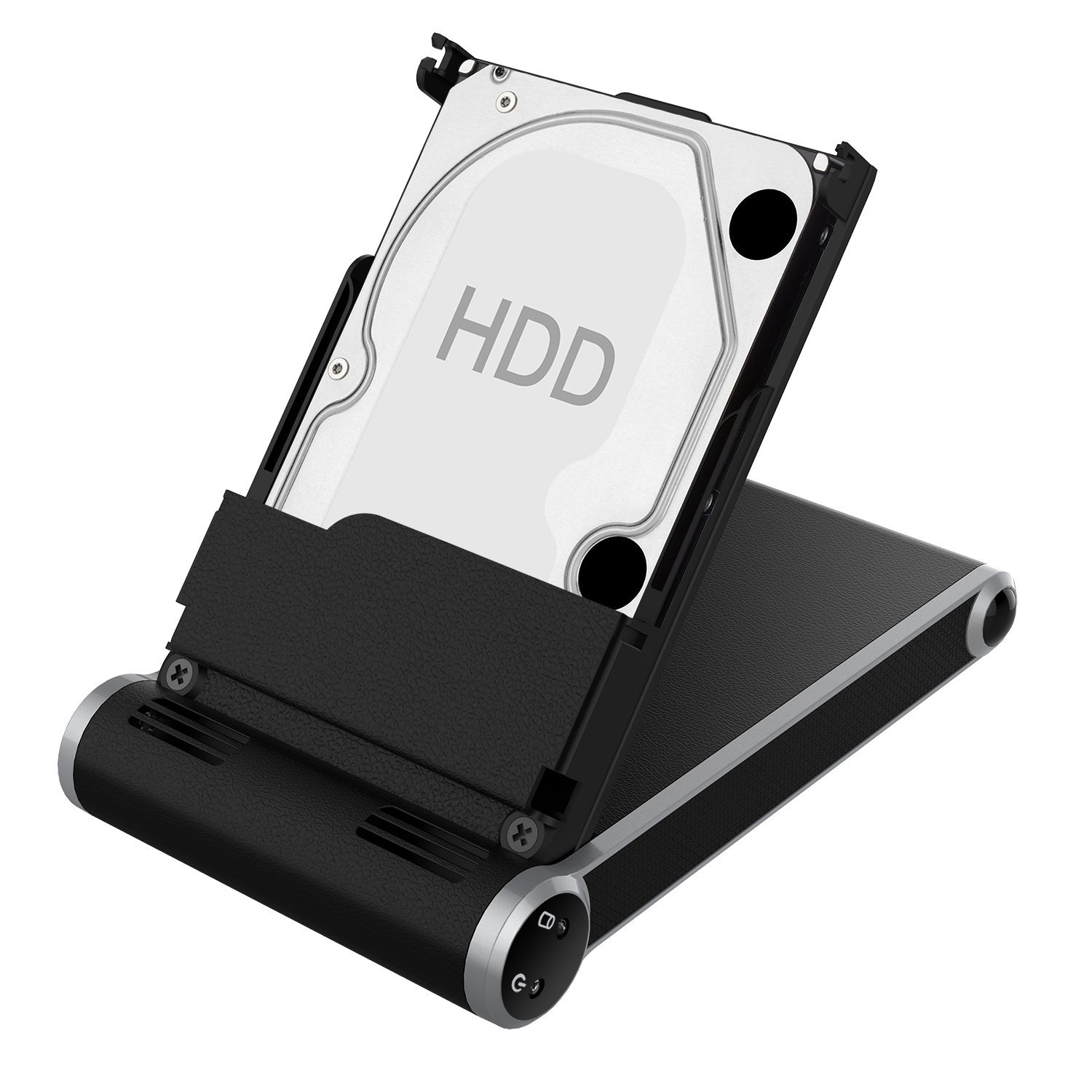 """2017 USB 3.0 Slim Pro 2.5"""" SATA I/II/III SOWTECH LED IndicatorHDD SSD Computer Hard Disk Drive Enclosures Plug and Play Brushed Casing PC Components External Hard Drive Case Tool Free"""