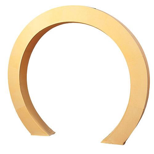 8 ft. 6 in. Luminescent Circle Arch Fabric Slip