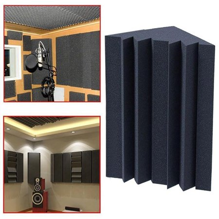 ZeAofa Soundproofing Foam Acoustic Bass Trap Corner Absorbers for Meeting Studio