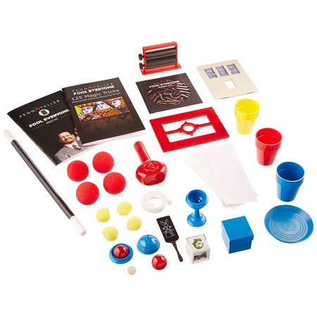 The Penn & Teller Fool Everyone Magic Kit - Over 200 Ways To Trick Your Friends, The First Officially Licensed Penn & Teller Magic Kit On The Market By Royal (Penn And Teller Fool Us Best Trick)
