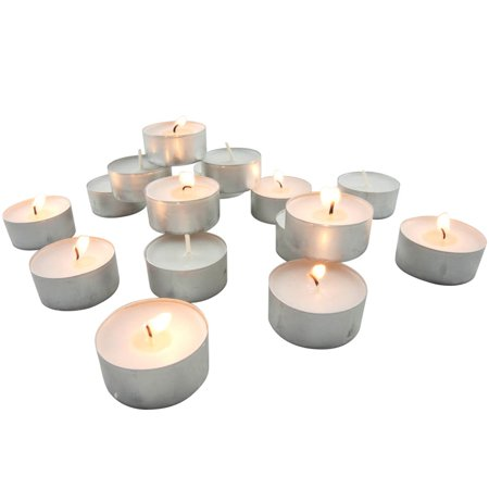 - Stonebriar Collection Unscented Tea Light Candles, 200 Pack