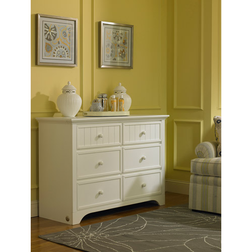 Fisher-Price Lakeland 6-Drawer Double Dresser, Choose Your Finish
