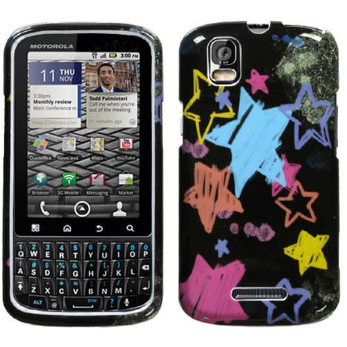 Motorola XT610 Droid Pro MyBat Protector Case, Chalkboard Star Black