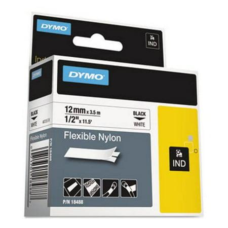 Rhinopro Industrial Label Tape - Flexible Nylon Industrial Label Tape, 1/2