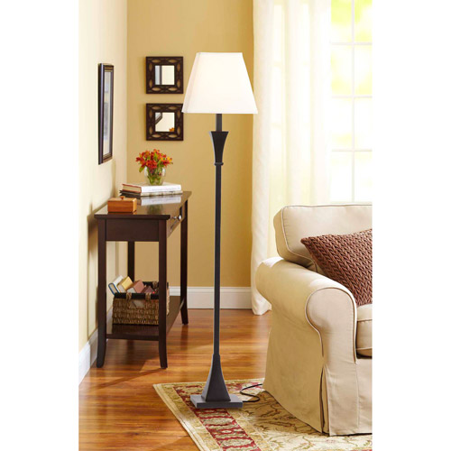 Better Homes and Gardens Tapered Knot Floor Lamp, Bronze