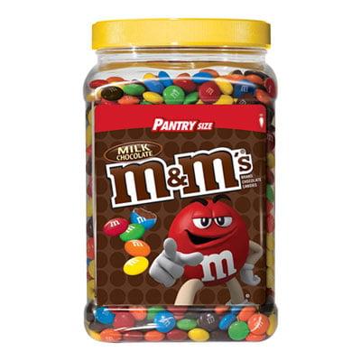 M&M's Plain 62oz Original Bulk Chocolate Candy Jar Bag M&Ms](2017 Halloween Candy Deals)