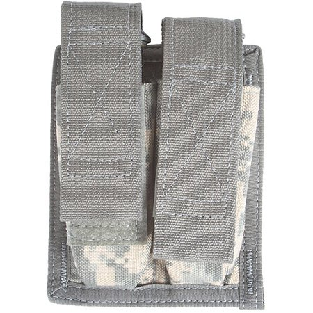 Spec-Ops Brand M-9 Double Magazine Pouch, ACU ()