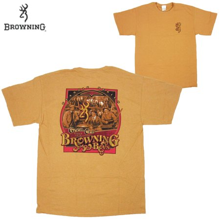 Browning Good Old Boys T-Shirt (XL)- Old Gold