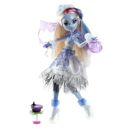 monster high ghouls rule doll, abbey abominable ()