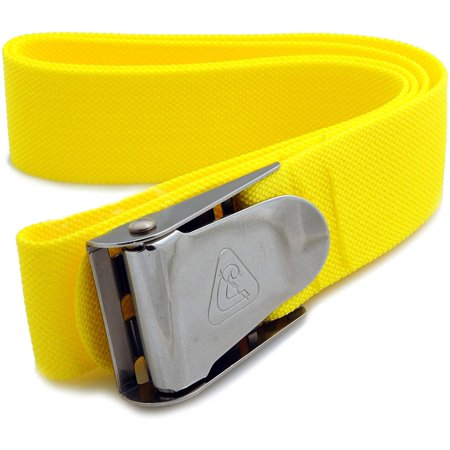 Weight Belt, Neon Yellow, Cressi is a REAL freediving, spearsihing and scuba diving Italian brand, since 1946. By