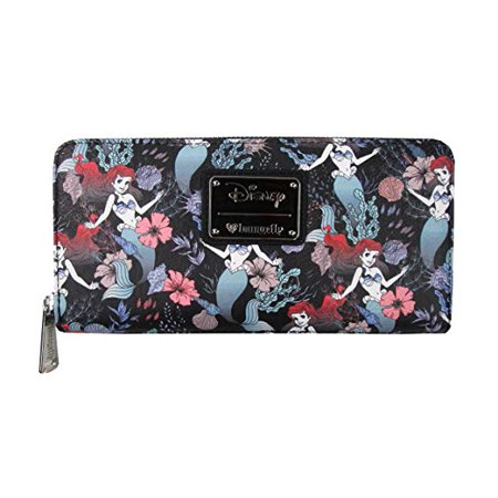 Wallet - Disney - Ariel Floral Aop New wdwa0683 - image 1 of 1