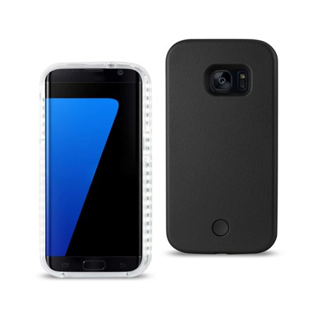 finest selection 7edab 4d659 SAMSUNG GALAXY S7 EDGE LED Light Up Selfie Luminous Illuminated Flashing  Cell Phone Hard Case