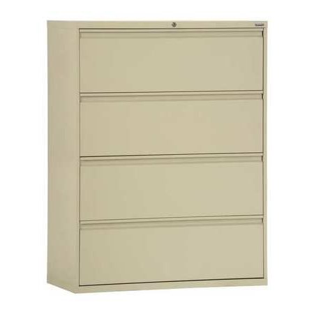 Sandusky Lee 800 Series 30 Inch 4 Drawer Lateral File Cabinet