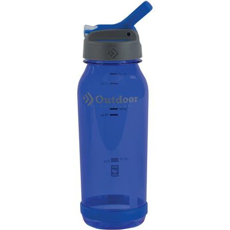 Outdoor Products 0.75-Liter Tritan Flip Top Water Bottle, Bl