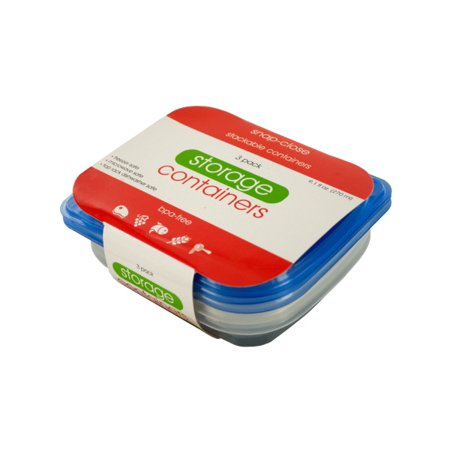 Small Rectangular Food Storage Container Set (Pack Of 12)