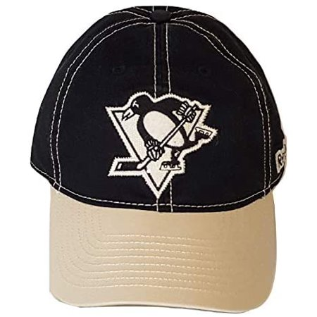 Reebok NHL Pittsburgh Penguins Slouch Fitted Hat (L/XL) Slouch Fitted Hat