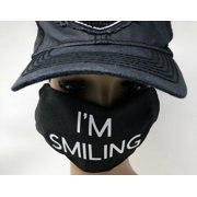 Bamboo Charcoal Face Mask Protector Cover  w/ I'M SMILING logo Made in U.S.A.