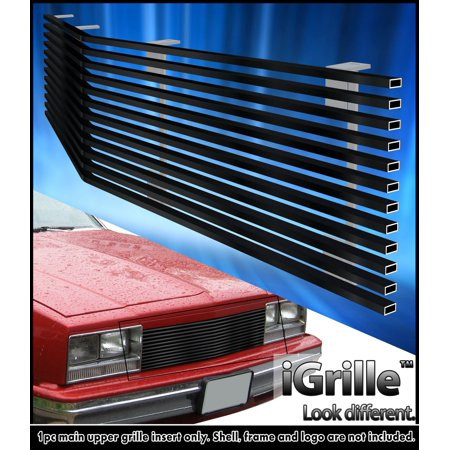 Fits 1982-1987 Chevy EL Camino/ 82-83 Malibu Stainless Black Billet Grille Chevy El Camino Radiator Core