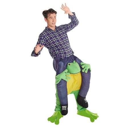 Carry Me Frog Costume](Carrie And Mr Big Halloween Costume)