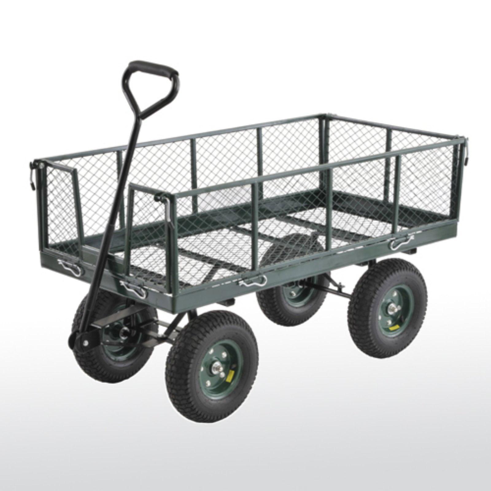 Sandusky Lee Heavy Duty Steel Crate Wagon
