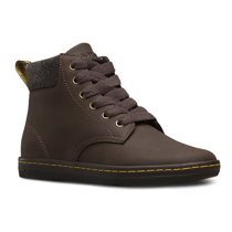 Dr. Martens Women's Maelly Padded Collar Hiking Boots Brown Leather 3 M UK 5 M US