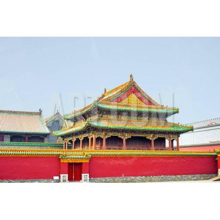 Forbidden City Beijing Shenyang Imperial Palace China Print Wall Art By Havanaman (Forbidden City Beijing China)