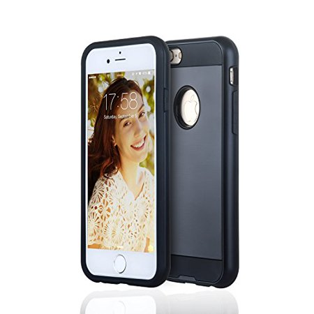 Best iPhone 6 / 6s Thick TPU Case (Black), PC (Best Looking Pc Cases)