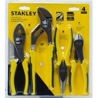 Deals on Stanley STHT72387 4 Piece Plier Set