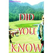 Did You Know - eBook
