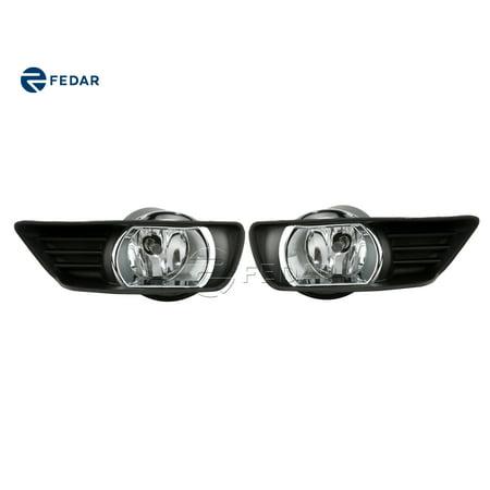 Fedar Clear Lens Fog Light Kit 2007-2009 Toyota (Toyota Fog Light Kit)