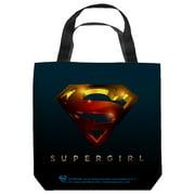 Supergirl Logo Tote Bag White 13X13