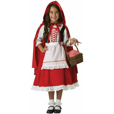 Little Red Riding Hood Child Halloween Costume - Little Red Riding Hood Grandmother Costume