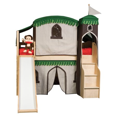Mission Tree Tent Loft With Stairs And Slide Walmart Com