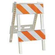 CORTINA 97-11-003-45 Type 2 Barricade, Orange/White