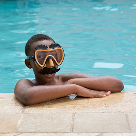 Swimways Funny Face Swim Mask (Mustache) - Funny Face Mask